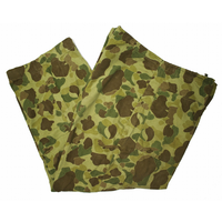 60's Frog Skin Camo Cotton Huntting Pants (about L) ダックハンターカモ ハンティングパンツ