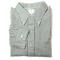 NOS 60's ARROW Checkered Cotton B.D.Shirts (L) デッドストック アロー トギンガムチェック コットン 3点留め ボタンダウンシャツ