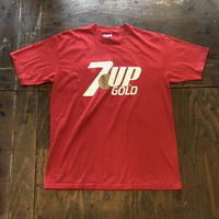 "80's ""7UP GOLD"" USA製"