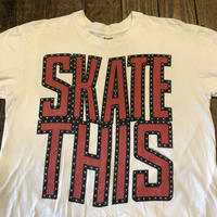"""80's """"SKATE THIS""""  MADE IN USA"""