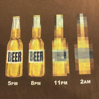 90's MOST BEER Tシャツ