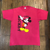 "90's MICKEY ""FLORIDA"" Tee MADE IN USA"
