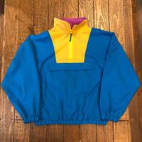 80's  SURF & CO ハーフジップナイロンジャケット