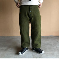 "50's ""British military""   trousers inner ウールインナーパンツ"