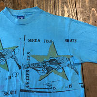 80's Ocean Pacific 4分割デザイン スケーター Tee  MADE IN USA