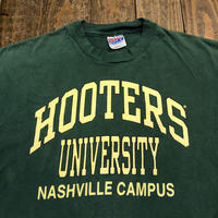"""90's """"HOOTERS"""" UNIVERSITY Tee  MADE IN USA"""