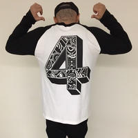 No.4 RAGLAN LONG SLEEVE