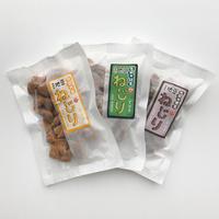 二三味農産 大浜大豆ねじり(すはま)3色セット