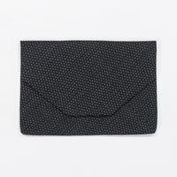 数寄屋袋 / 蚊絣 黒