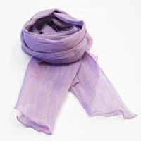ストール / 万筋 縞 若紫 / XL