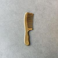 Green Sandalwood Hair Comb