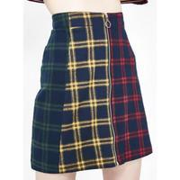 【Lazy Oaf】スカート タイトスカート チェック柄  マルチカラー