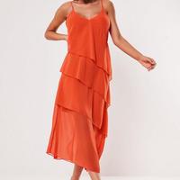ドレス キャミドレス フレアドレス シースルー