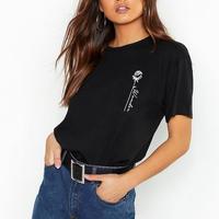 Tシャツ トップス シンプル ワンポイント