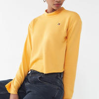 【Tommy Hilfiger】2色展開☆トップス ショート丈
