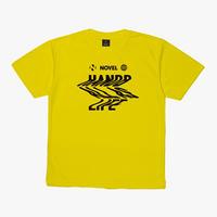 【DRY T-shirt】Distortion[YELLOW]