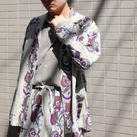 FLORAL STRIPE SHIRTS JACKET【MENS】