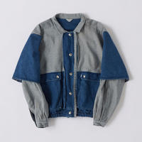 BY COLOR DENIM JACKET【WOMENS】