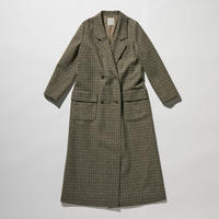 TWEED LONG CHESTER COAT【WOMENS】