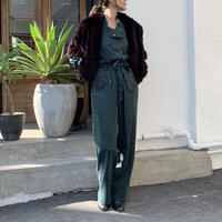 SATIN JUMP SUIT【WOMENS】