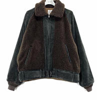 CORDUROY BEAR JACKET【MENS】