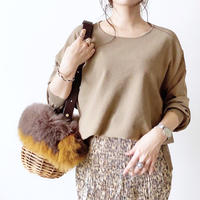knit  drop shoulder