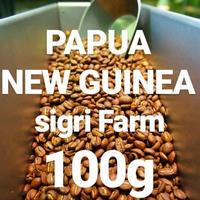 "PAPUA NEW GUINEA Sigri Farm ""パプアニューギニア シグリ農園"" 100g"