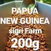 "PAPUA NEW GUINEA Sigri Farm ""パプアニューギニア シグリ農園"" 200g"