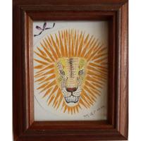 MARUU作品「獅子とリボン」