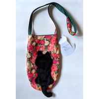 谷みゆき:ワンニャンバッグ20「黒い子猫斜めがけバッグ」
