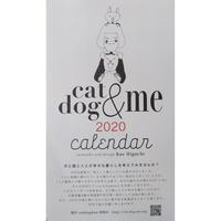 樋口佳絵:チャリティーカレンダー「cat & dog & me」2020
