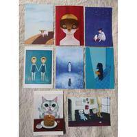 町田尚子:ポストカード8種