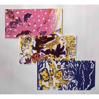きくちちきポストカード「ひうた」3枚組