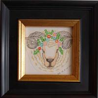 MARUU作品「牡羊と雛菊」