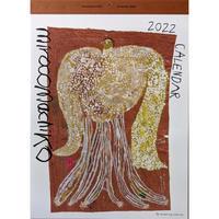 ミロコマチコ:壁掛けカレンダー2022