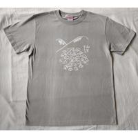マメイケダ:涸沢ヒュッテ山小屋Tシャツ「山とテント」