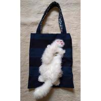 谷みゆき 白猫パンチバッグ