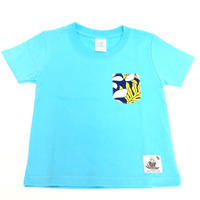 NoweeeオリジナルTシャツ~バックプリントver~【ライトブルー】子ども用