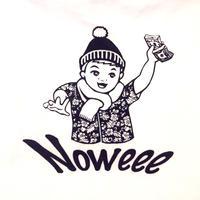 NoweeeオリジナルロングT 【ホワイト】〜秋冬ロゴver〜