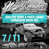 NS Rounder Car Show & Photo Shoot  エントリーフィー 【クルマ】