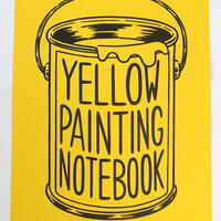 YELLOW PAINTING NOTEBOOK(poster)
