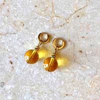 Yellow quartz pierce