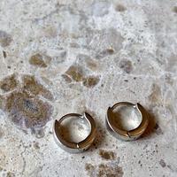 Mini hoop pierce silver
