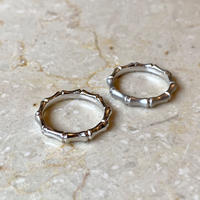 Bamboo ring siliver