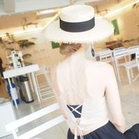 BACKレースアップキャミ【7月下旬より順次発送】