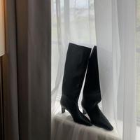 tongari heel long boots