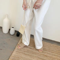 Flat straw Sandal