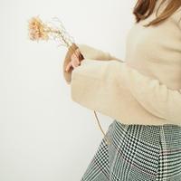 ベルスリーブニュアンスニット【11月中旬~下旬発送】