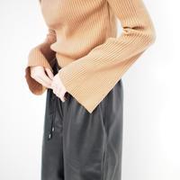 フレアスリーブリブニット【11月中旬~下旬発送】