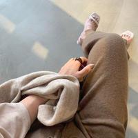 Wool cashmere knit PT